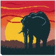 ELEPHANT 28 X 28 CM