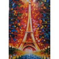 """PARIS Tour Eiffel "" TOUT STRASS"