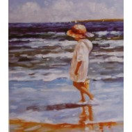 """Enfants """" la Romantique à la  plage """" TOUT STRASS"""