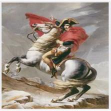napoléon  sur son cheval