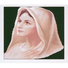 vierge sur Toile 43 x 54 cm
