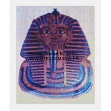EGYPTE TOUT STRASS 40 x 50 cm SUR CADRE BOIS