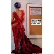Nostalgie à Venise rouge Strass et Peinture Numéro