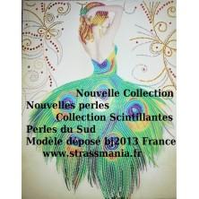 DANSEUSE PAON , Collection Scintillante 2019